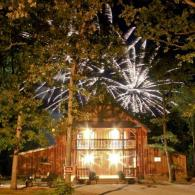 July 4th Wedding,Event Barn venue celebration