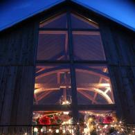 Rustic barn event venue july 4th celebration