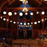 Night Barn wedding event